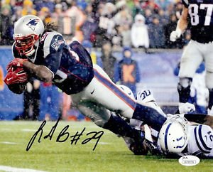 LEGARRETTE BLOUNT SIGNED PHOTO 8X10 RP AUTOGRAPHED NEW ENGLAND PATRIOTS