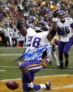 ADRIAN PETERSON SIGNED PHOTO 8X10 RP AUTOGRAPHED MINNESOTA VIKINGS