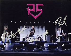 R5 GROUP BAND LYNCH ROSS  SIGNED PHOTO 8X10 RP AUTO AUTOGRAPHED