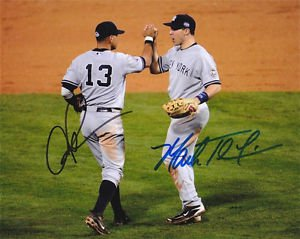 ALEX RODRIGUEZ MARK TEIXEIRA SIGNED PHOTO 8X10 RP AUTOGRAPHED NEW YOORK YANKEES