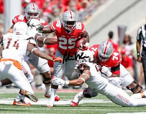 * MIKE WEBER SIGNED PHOTO 8X10 RP AUTOGRAPHED OHIO STATE BUCKEYES