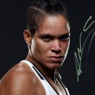 AMANDA NUNES SIGNED PHOTO 8X10 RP AUTOGRAPHED UFC STRIKEFORCE