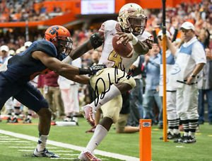 DALVIN COOK SIGNED PHOTO 8X10 RP AUTOGRAPHED FLORIDA STATE SEMINOLES FSU