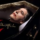 CHRISTOPHER LEE SIGNED PHOTO 8X10 RP AUTOGRAPHED DRACULA