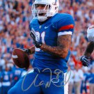 AARON HERNANDEZ SIGNED PHOTO 8X10 RP AUTOGRAPHED FLORIDA GATORS