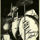 * BUDDY RICH SIGNED PHOTO 8X10 RP AUTOGRAPHED LEGENDARY DRUMMER