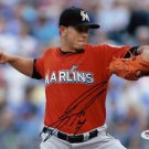 JOSE FERNANDEZ SIGNED PHOTO 8X10 RP AUTOGRAPHED MIAMI MARLINS