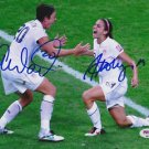 * ALEX MORGAN ABBY WAMBACH SIGNED PHOTO 8X10 RP AUTOGRAPHED USA WOMENS SOCCER