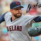 * COREY KLUBER SIGNED PHOTO 8X10 RP AUTOGRAPHED CLEVELAND INDIANS !