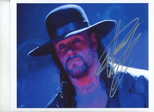 THE UNDERTAKER SIGNED PHOTO 8X10 RP AUTOGRAPHED WWE WRESTLING