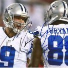 TONY ROMO DEZ BRYANT SIGNED PHOTO 8X10 RP AUTOGRAPHED DALLAS COWBOYS