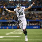 CONNOR COOK SIGNED PHOTO 8X10 RP AUTOGRAPHED MICHIGAN STATE FOOTBALL !