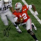 * CARDALE JONES SIGNED PHOTO 8X10 RP AUTOGRAPHED OHIO STATE BUCKEYES FOOTBALL !