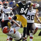 ANTONIO BROWN SIGNED PHOTO 8X10 RP AUTOGRAPHED KARATE KICK ! PITTSBURGH STEELERS