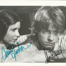 CARRIE FISHER MARK HAMILL  SIGNED PHOTO 8X10 RP AUTOGRAPHED STAR WARS CAST