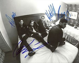 * THE 1975 GROUP BAND SIGNED POSTER PHOTO 8X10 RP AUTOGRAPHED VINYL INDIE ROCK