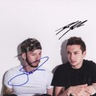 * TWENTY ONE PILOTS GROUP SIGNED POSTER PHOTO 8X10 RP AUTOGRAPHED