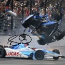 * SCOTT DIXON SIGNED PHOTO 8X10 RP AUTOGRAPHED INDY 500 CRASH !