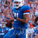 AARON HERNANDEZ SIGNED PHOTO 8X10 RP AUTO AUTOGRAPHED ** FLORIDA GATORS !!