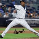 AROLDIS CHAPMAN SIGNED PHOTO 8X10 RP AUTO AUTOGRAPHED NEW YORK YANKEES !