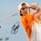 RICKIE FOWLER SIGNED PHOTO 8X10 RP IN HAT AUTOGRAPHED GOLF PRO