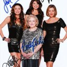 BETTY WHITE SIGNED PHOTO 8X10 RP AUTOGRAPHED HOT IN CLEVELAND FULL CAST