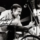 ** BUDDY RICH SIGNED PHOTO 8X10 RP AUTOGRAPHED * LEGENDARY DRUMMER **