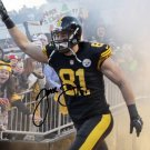 JESSE JAMES SIGNED PHOTO 8X10 RP AUTO AUTOGRAPHED PITTSBURGH STEELERS