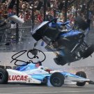 SCOTT DIXON SIGNED PHOTO 8X10 RP AUTOGRAPHED ** INDY 500 CRASH !