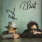 TIM BURTON & JOHNNY DEPPSIGNED PHOTO 8X10 RP AUTOGRAPHED