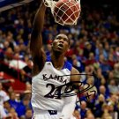 JOEL EMBIID SIGNED PHOTO 8X10 RP AUTOGRAPHED KANSAS JAYHAWKS