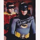 BATMAN CAST SIGNED PHOTO 8X10 RP AUTOGRAPHED ADAM WEST & BURT WARD VINTAGE