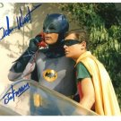 ADAM WEST SIGNED PHOTO 8X10 RP AUTOGRAPHED 1960'S BATMAN !