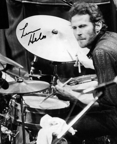 """MARK LAVON LEVON HELM """" THE BAND """" SIGNED PHOTO 8X10 RP AUTOGRAPHED"""
