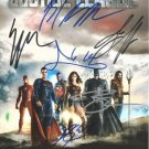 JUSTICE LEAGUE SIGNED PHOTO 8X10 RP AUTOGRAPHED GAL GADOT HENRY CAVILL ++