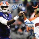 DESHAUN WATSON DABO SWINNEY SIGNED PHOTO 8X10 RP AUTOGRAPHED CLEMSON TIGERS
