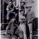 GUNSMOKE FULL CAST SIGNED PHOTO 8X10 RP AUTOGRAPHED JIM ARNESS AMANDA BLAKE +