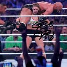 RONDA ROUSEY SIGNED PHOTO 8X10 RP AUTOGRAPHED WWE WRESTLEMANIA