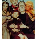 MUNSTERS FULL CAST SIGNED PHOTO 8X10 RP AUTOGRAPHED YVONNE DE CARLO FRED GWYNNE  ALL