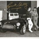 CARROLL SHELBY & STEVE MCQUEEN SIGNED PHOTO 8X10 RP AUTOGRAPHED PICTURE