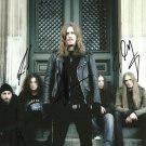 OPETH FULL BAND SIGNED PHOTO 8X10 RP AUTOGRAPHED ALL MEMBERS