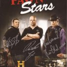 PAWN STARS CAST SIGNED PHOTO 8X10 RP AUTOGRAPHED THE OLD MAN *