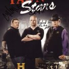 PAWN STARS CAST SIGNED PHOTO 8X10 RP AUTOGRAPHED * THE OLD MAN *