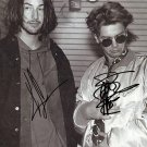 KEANU REEVES & RIVER PHOENIX SIGNED POSTER PHOTO 8X10 RP AUTOGRAPHED *