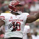 ED OLIVER SIGNED PHOTO 8X10 RP AUTOGRAPHED HOUSTON COUGARS *