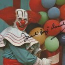 FRANK AVRUCH BOZO THE CLOWN SIGNED PHOTO 8X10 RP AUTOGRAPHED
