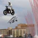 TRAVIS PASTRANA SIGNED PHOTO 8X10 RP AUTOGRAPHED LAS VEGAS EVEL KNIEVEL JUMP