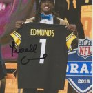 TERRELL EDMUNDS SIGNED PHOTO 8X10 RP AUTOGRAPHED * PITTSBURGH STEELERS