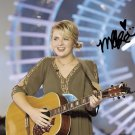 MADDIE POPPE SIGNED PHOTO 8X10 RP AUTOGRAPHED AMERICAN IDOL WINNER