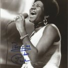 ARETHA FRANKLIN SIGNED PHOTO 8X10 RP AUTOGRAPHED PICTURE